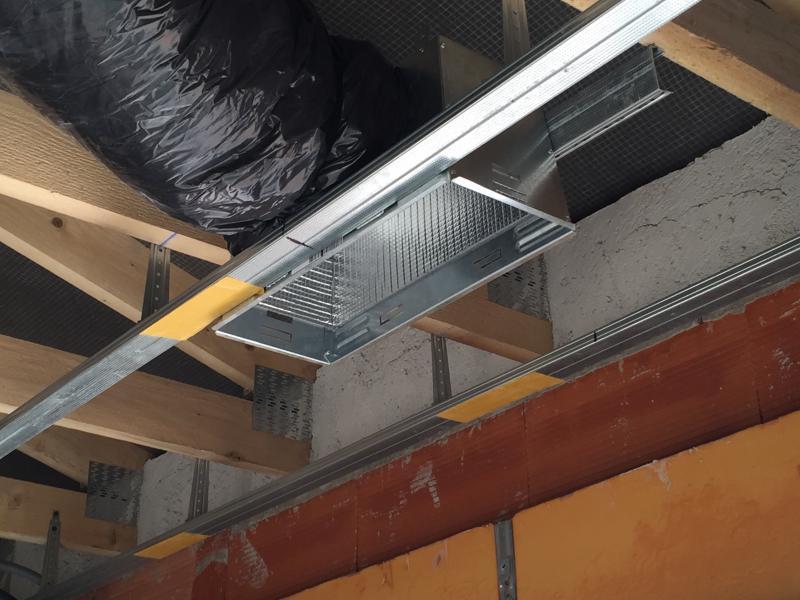 climatisation faux plafond